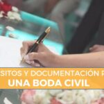 requisitos casarse boda civil