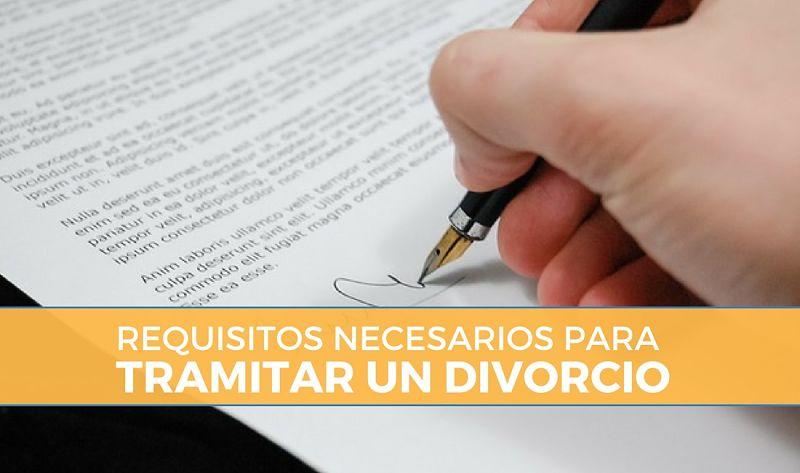 Requisitos y trámites para un divorcio en México