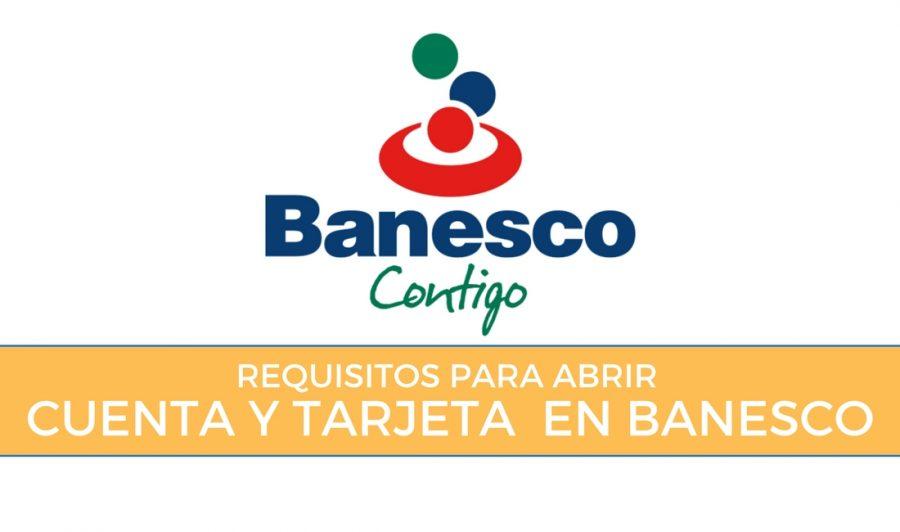 requisitos para abrir una cuenta de ahorro en banesco