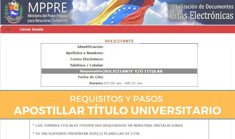 Requisitos y pasos para apostillar el título universitario