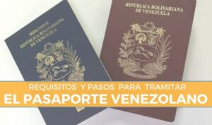 requisitos para tramitar el pasaporte