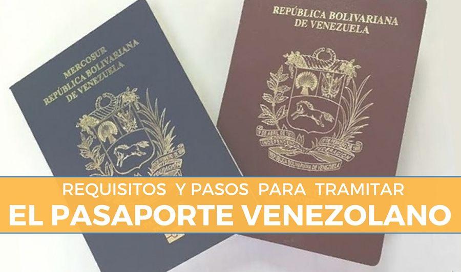 requisitos para tramitar el pasaporte