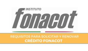 requisitos credito fonacot