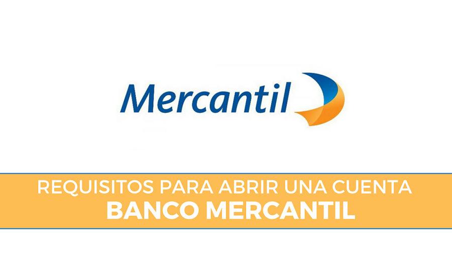 requisitos cuenta banco mercantil