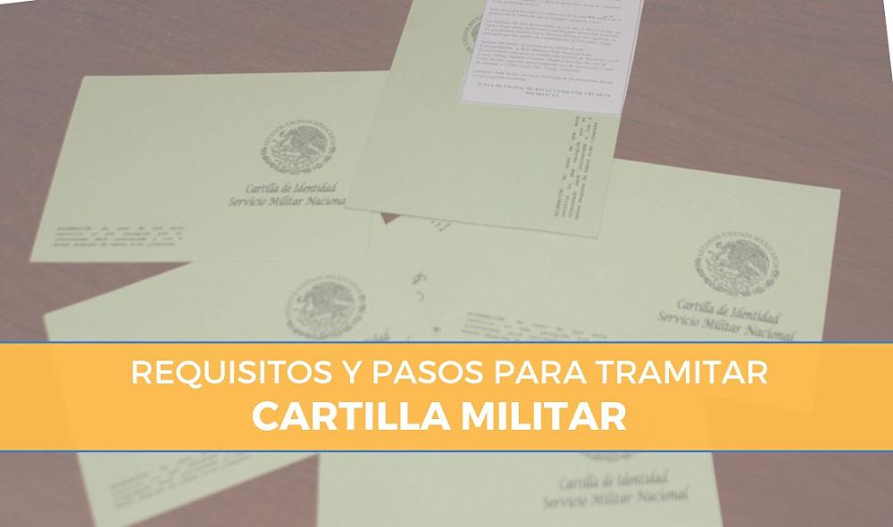 Requisitos para la Cartilla Militar