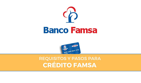 requisitos para tramitar crédito famsa