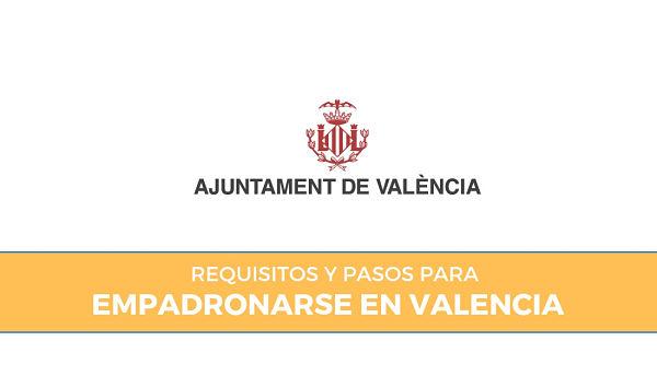 como empadronarse en Valencia