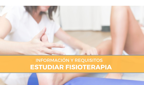 Requisitos para estudiar fisioterapia