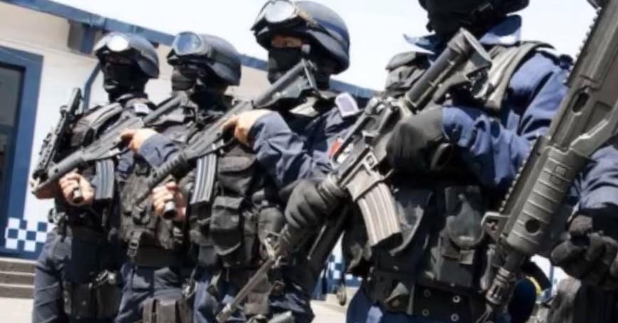 policia estatal formando