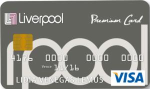 Tarjeeta de crédito visa premium liverpool
