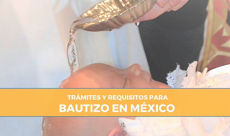 requisitos para bautizo