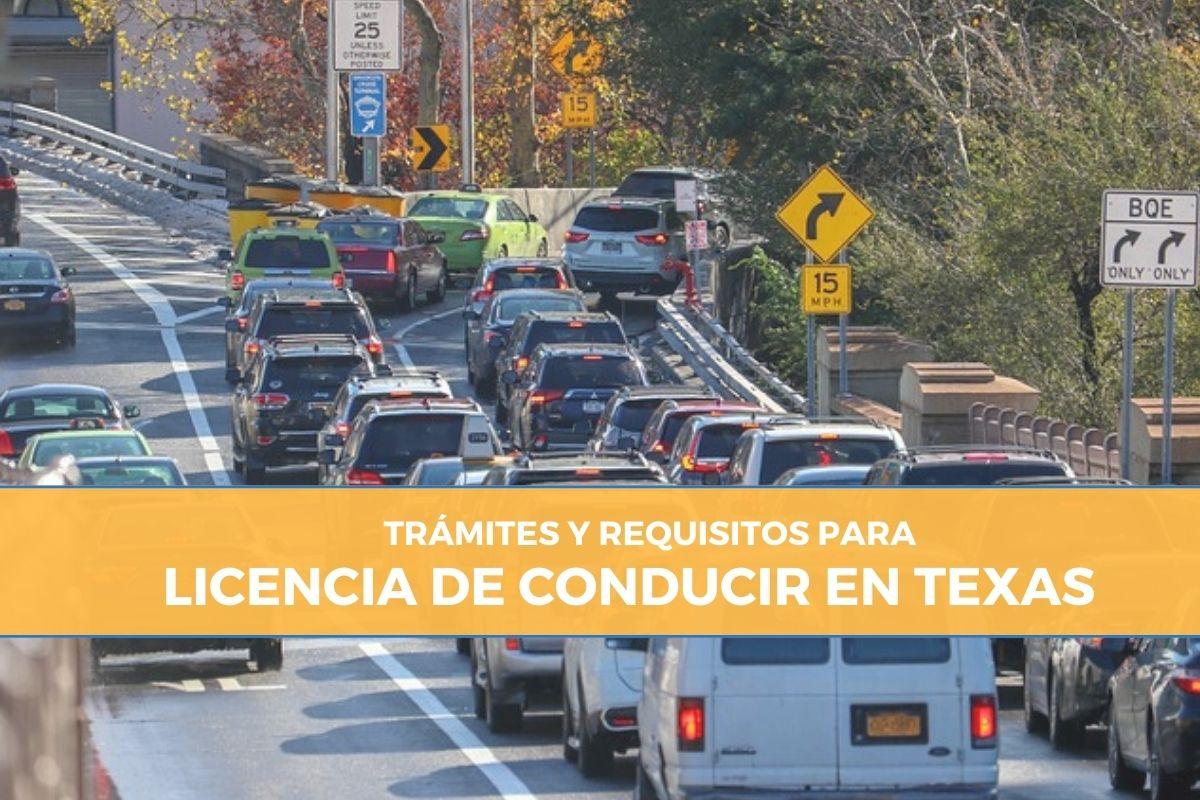 requisitos y tramites para LICENCIA DE CONDUCIR EN TEXAS